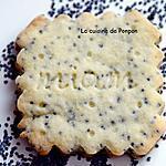 recette Biscuit aux graines de pavot et poudre d'écorce de combava, sans oeufs