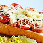 recette Pizza baguette