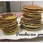 recette PANCAKES AUX POMMES