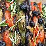 recette Tian à la provençal aux olives noir et romarin