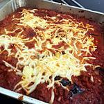recette Gratin d'aubergine a l'italienne