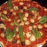 recette Pizza aux chipirons
