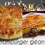 recette Hamburger géant