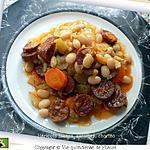 recette Haricots blancs, carottes, chorizo