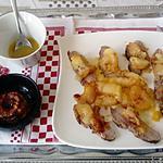 recette magret  de canard  sauce au miel,  pommes roties de michéle  croquant fondant