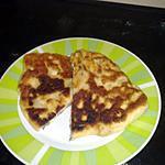 recette Naan au pomme de terre champignon ect
