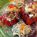 recette tomates aux crevettes