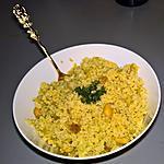 recette Boulgour à L'indienne