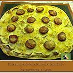 recette Pizza pommes de terre, Morteau et cancoillotte