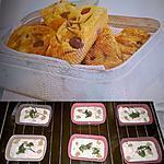 recette Mini Cakes au Fromage de Chèvre et aux raisins