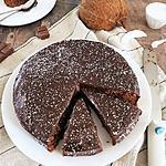 recette Moelleux au chocolat et noix de coco