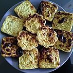 recette Petits flans de courgettes thon chèvre