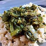 recette PONDU : ragout de legumes congolais