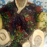 recette Joue de boeuf braissée et os à moelle