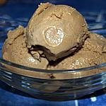 recette glace au chocolat caramel