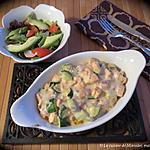 recette Blanquette de truite au saumon fumé +