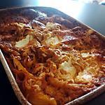 recette Lasagne a la bolognaise de courgette ricotta