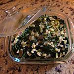 recette Risotto vert