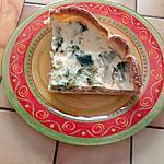 recette Tarte brocolis-saumon fumé