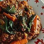 recette Mijoté de lentilles et carottes