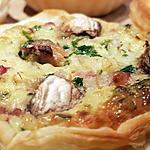 recette Mini quiches lardons champignons