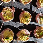 recette Roulés jambon curry curcuma et champignons crus, un apéro express qui change!