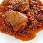 recette poulet au chorizo