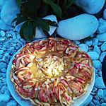 recette Compote de pommes vanillée   ... simple et rapide