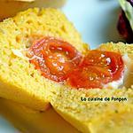 recette Muffins salés aux légumes: brocoli, tomate et artichaut, végétarien