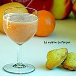 recette Jus d'orange, pamplemousse, kiwi et sirop d'amour, vegan