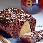 recette Gâteau au chocolat garni de poires entières parfumées à la liqueur de poire Williams