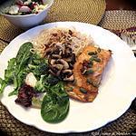 recette Pavés de saumon à l'asiatique + bis