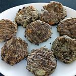recette palets de viande et légumes