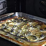 recette Quiche sans pâte chèvre brocolis