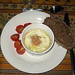 recette Oeufs cocotte aux échalotes