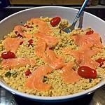 recette Salade de Boulgour aux Saumon Fumé