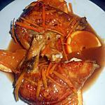 recette Supremes de pintade à l orange et gingembre
