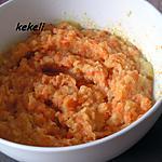 recette Ecrasé de pommes de terre carottes au cookéo