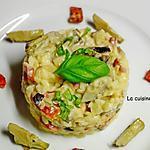 recette Risotto aux légumes confits