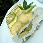 recette Terrine de courgettes à la menthe & feta