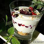 recette Trifles aux fruits rouges