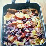 recette Clafoutis rhubarbe cerise