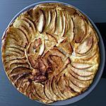 recette Flamusse aux pommes