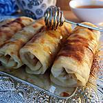 recette Msemen  (crêpes feuilletées)