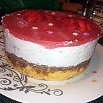 recette Bavarois fraise mascarpone