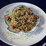 recette Salade de blé aux moules