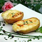 recette Pommes de terre farçies à la Tomme de Savoie