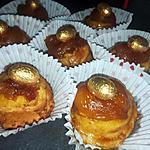 recette Brioches roulées a la cannelle tatin de pommes