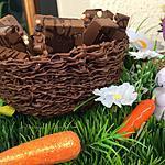 recette Panier en chocolat et ses petits chocolats gourmands
