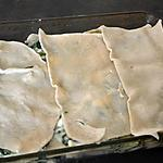 recette Lasagnes chèvre et épinards